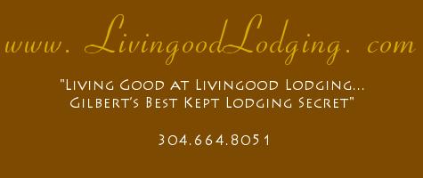 Livingood Lodging ~ Gilbert, WV Newbanner